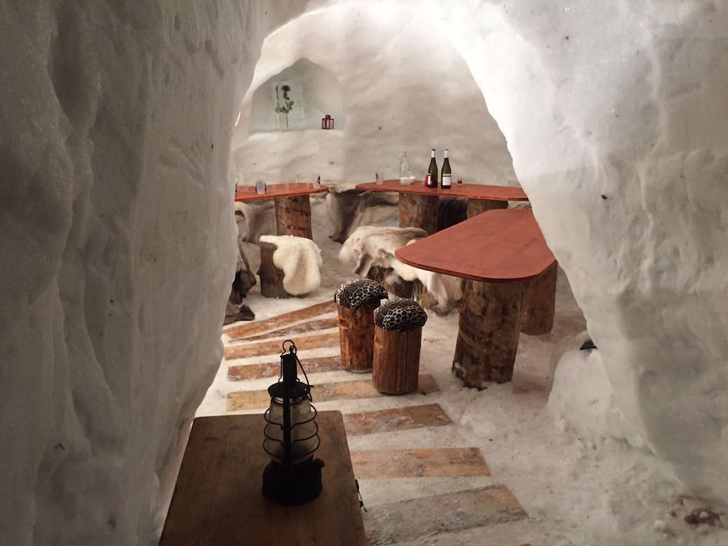 igloo interieur les exploratrices