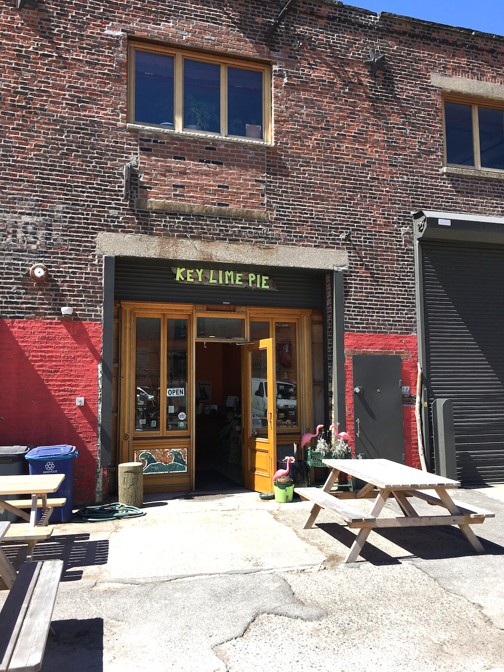 red hook devanture et visiter brooklyn key lime pie
