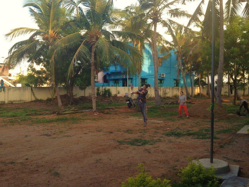 voyager seule en inde du sud et jouer au cricket