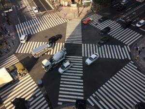 voyage à tokyo quartier ginza