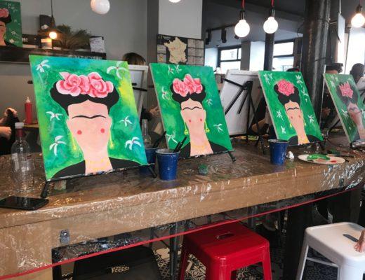 cours de peinture avec happy paint
