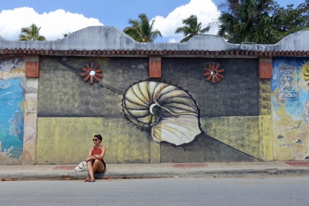 république dominicaine authentique avec du street art à las terrenas