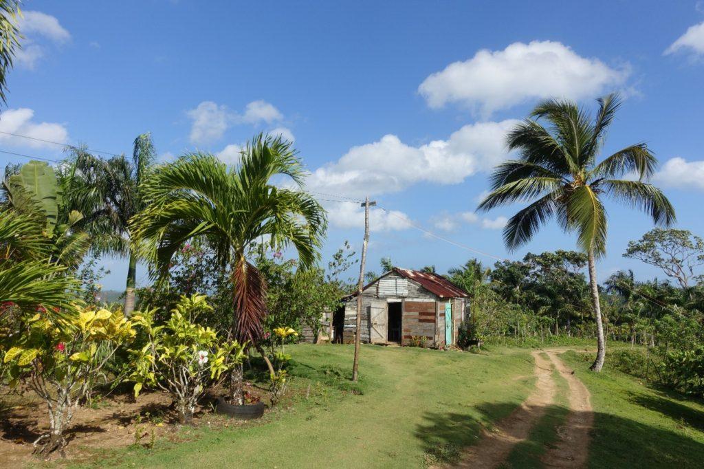 visiter la république dominicaine en quad, ici à el limon à samana