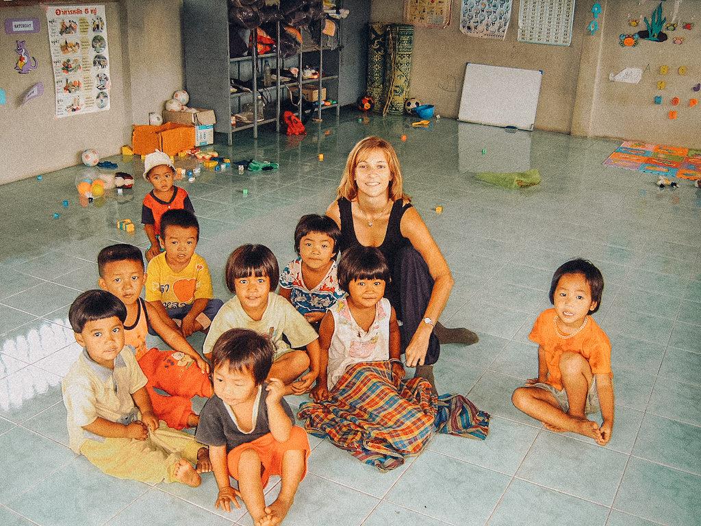 mission humanitaire en asie