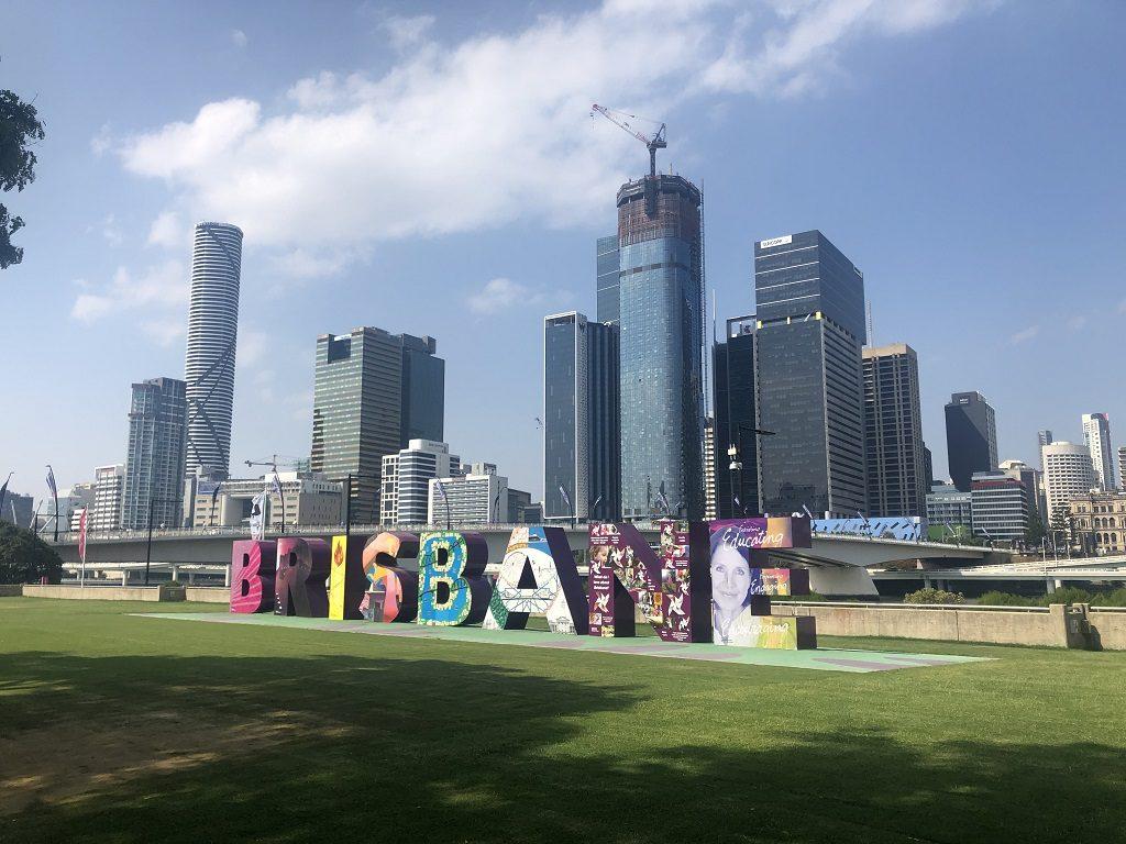 Brisbane, une des grandes villes du Queensland, sur la Côte Est de l'Australie
