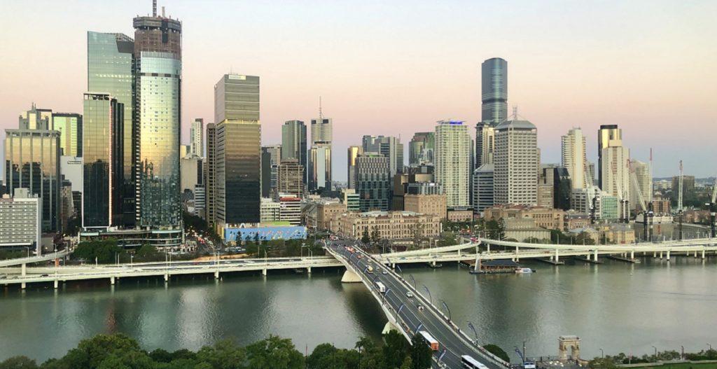 Une vue imprenable sur Brisbane.