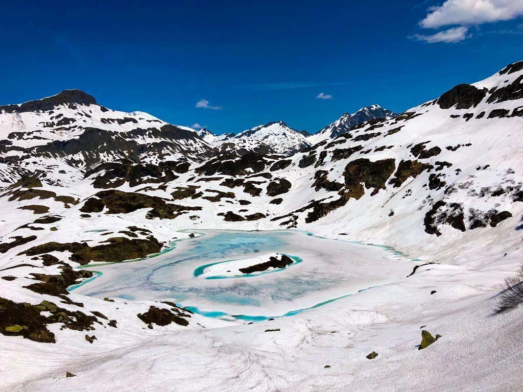randonnée savoie mont blanc lac pormenaz