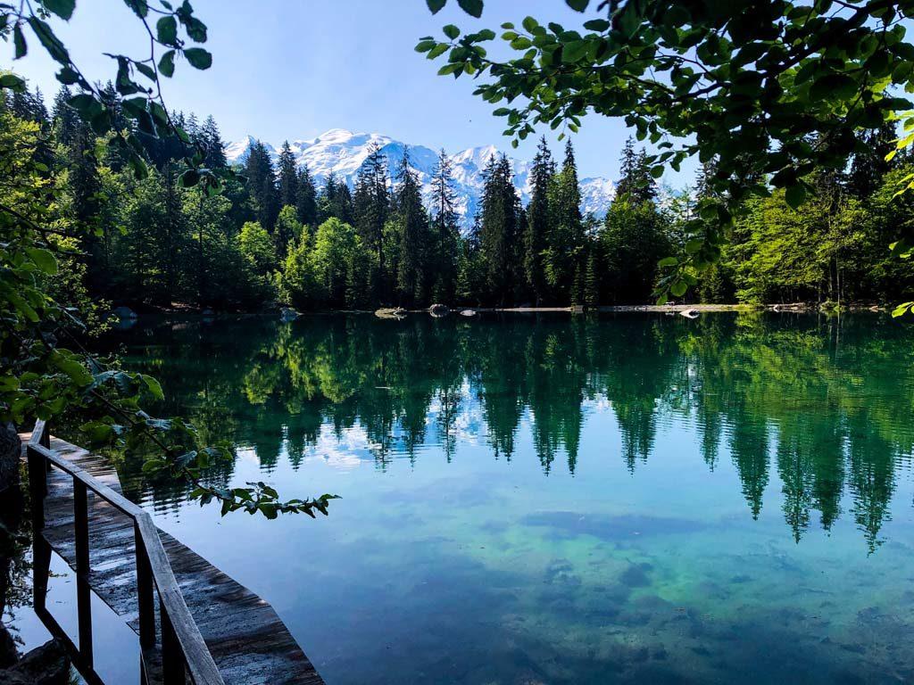 randonnée savoie mont blanc lac vert