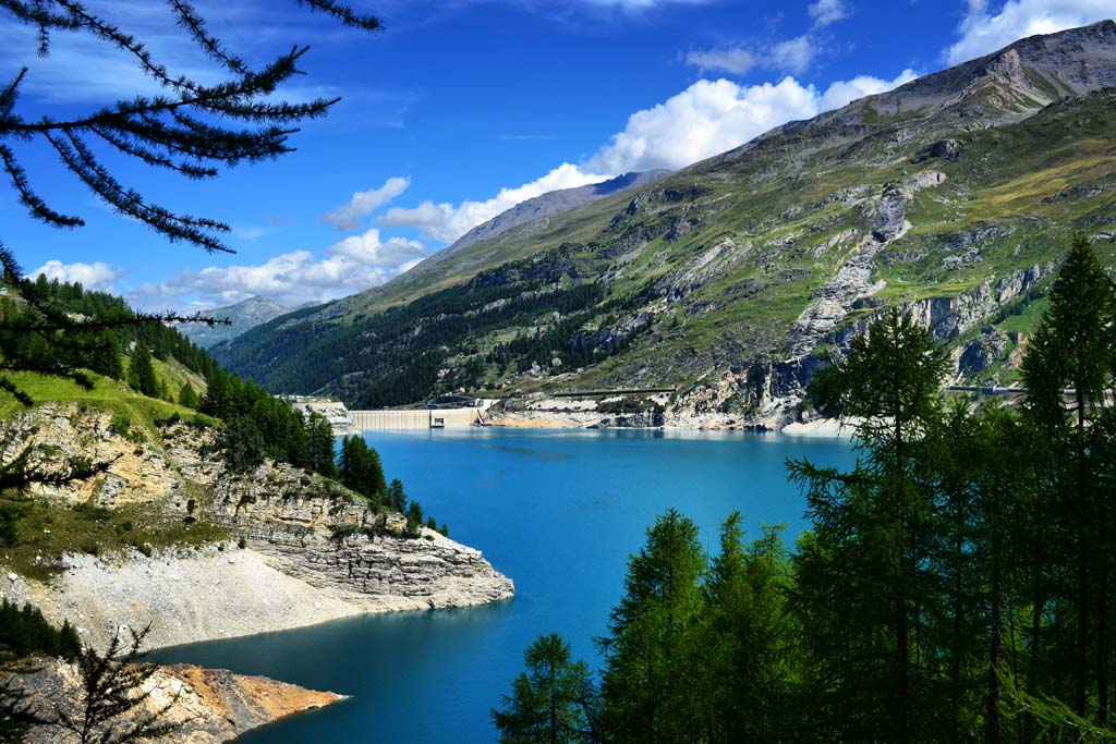 lac du chevril savoie mont blanc
