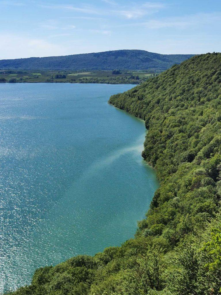 belvédère de fontenu lac de chalain