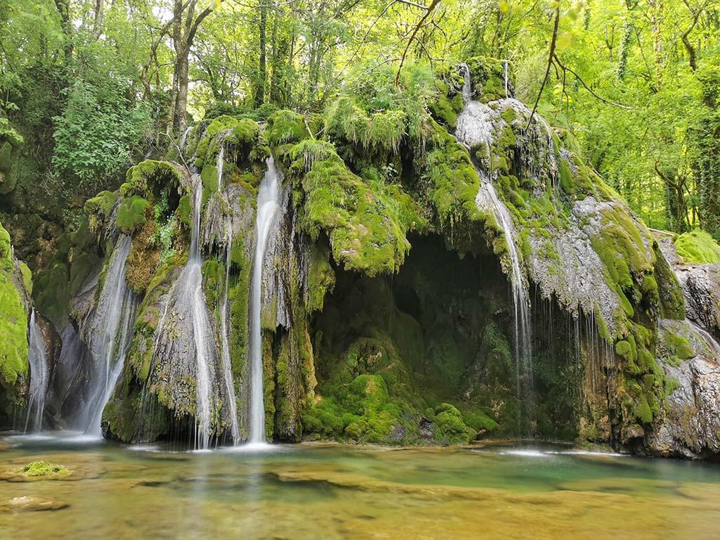 cascade des tufs arbois jura